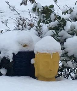 Buddah snow