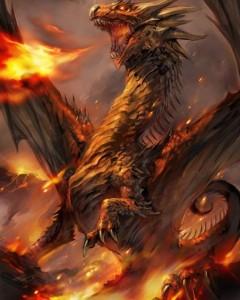 dragon spume