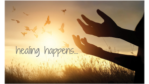 healing happens...
