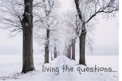 living the questions…12-24-18